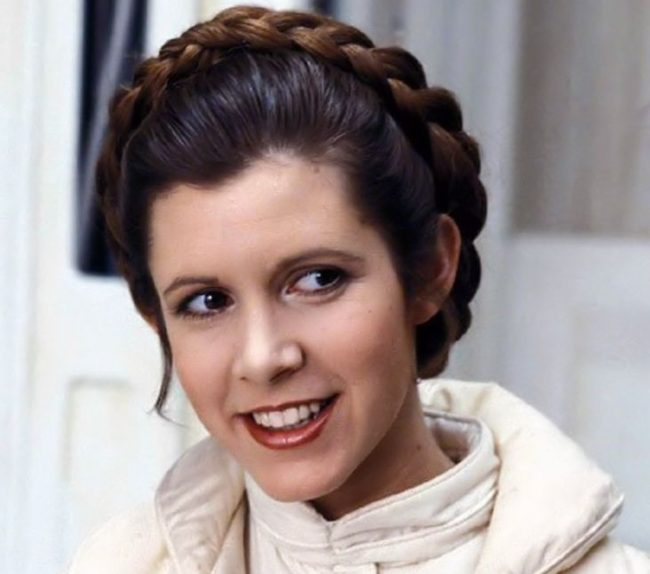 Happy birthday to Carrie Fisher! (Princess Leia Organa in the Star Wars films)