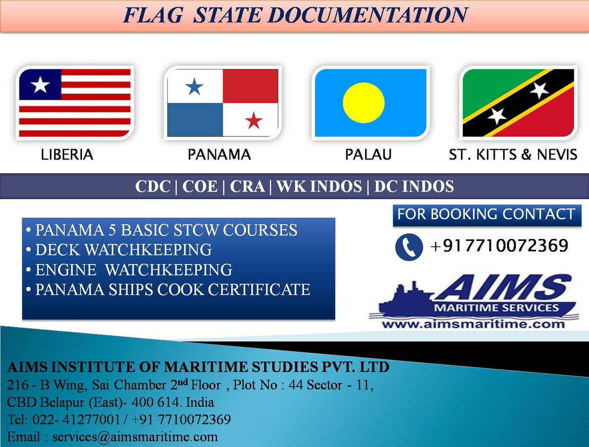 AIMS MARITIME GROUP (@institute_aims) | Twitter