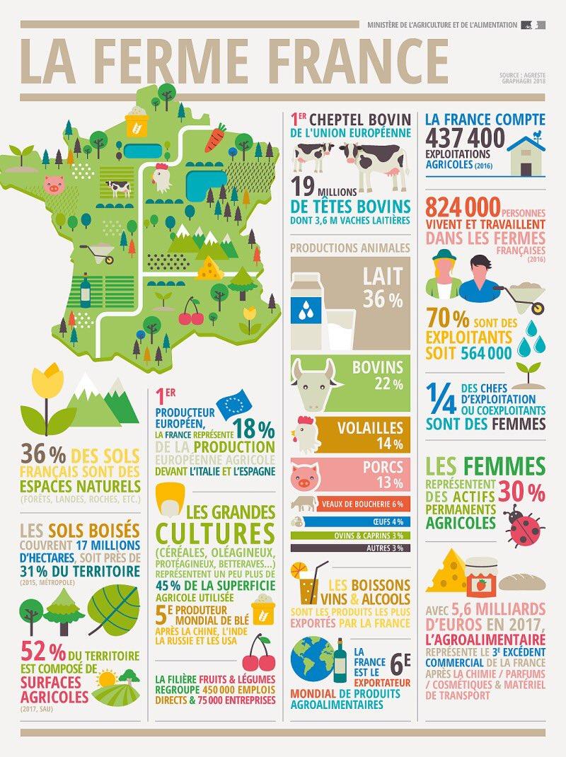Je fais un rêve ! Que la France soit présentée comme ceci. Avec un message positif : elle est pas belle la France, des 400 000 qui font pour nourrir les 66 millions de Français ? https://t.co/tv2dUbobE4
