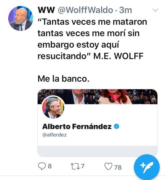 Jorge Elbaums Tweet El Papanata Pretencioso Waldo Wolff