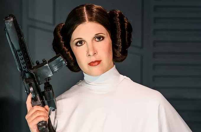 Happy Birthday Carrie Fisher. Thank you for being part of our childhood..you are still missed.