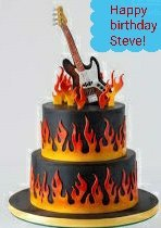 Happy birthday to my favorite guitarist, singer, and awesome dad! The one and only Steve Lukather!