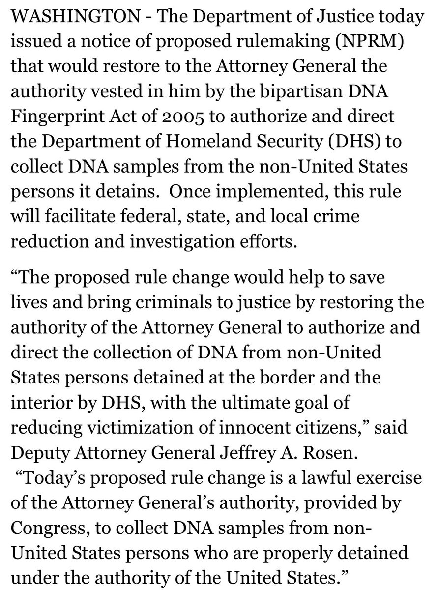 Rights groups slam US plan to collect DNA from migrants