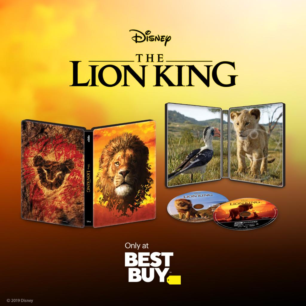 Dont miss your chance to bring home #TheLionKing with @BestBuys limited-time exclusive SteelBook: di.sn/600318ar7