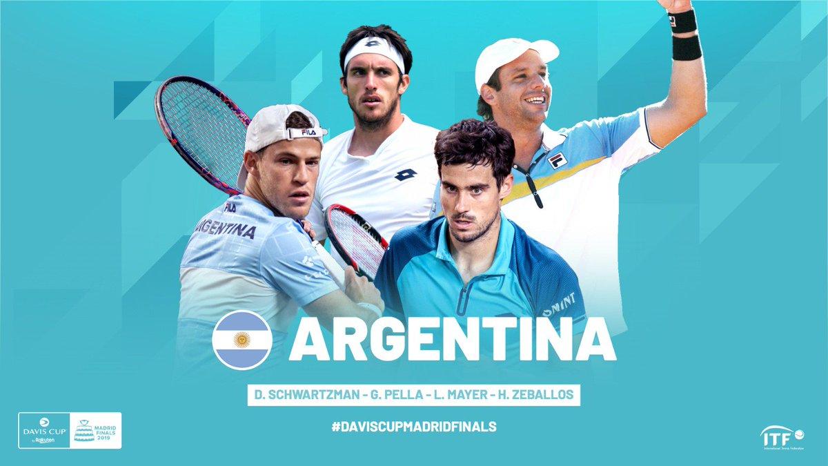Copa Davis: Gaudio dio el equipo para el duelo Argentina-España