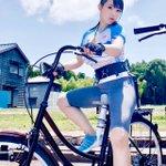 澁谷果歩さん。ママチャリも乗れないのに電マ自転車に乗った出来事を懐かしむ