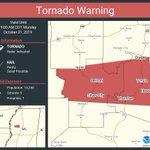 Image for the Tweet beginning: Tornado Warning including Belzoni MS,