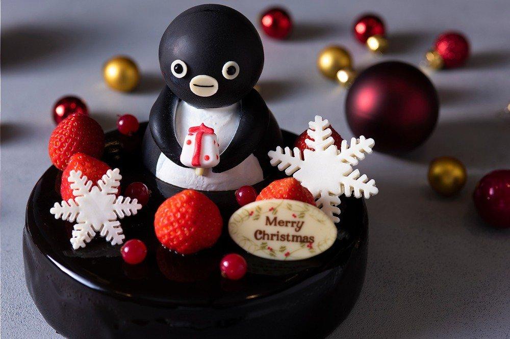 """ホテルメトロポリタンから""""Suicaのペンギン""""クリスマスケーキ -"""