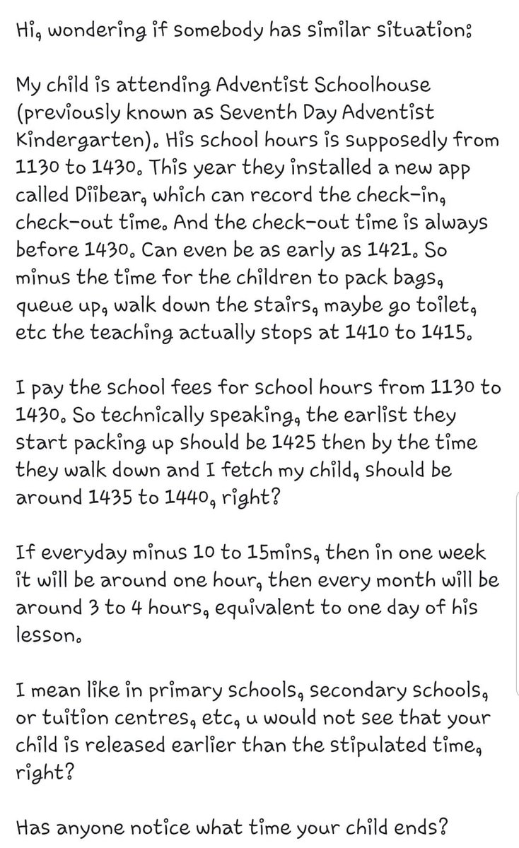 Why so kiasu sia? Kindergarten only, relax lah!  #Singapore #KiasuParents #Kindergartenpic.twitter.com/tyOEig8TmF