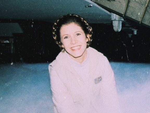 Happy birthday carrie fisher, you were the brightest light in the galaxy and we miss and love you dearly.