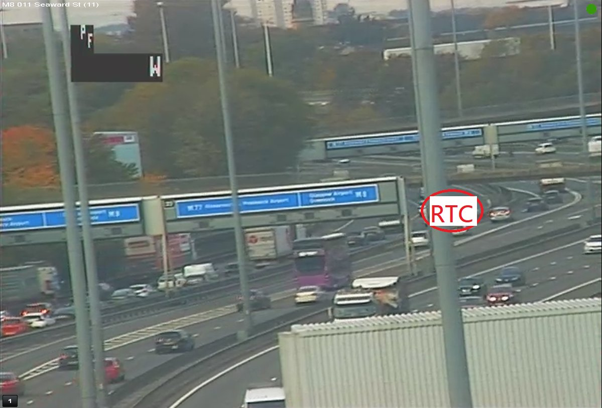 test Twitter Media - ❗️NEW⌚️10:45  #M8 W/B secondary carriageway at J22- lane 3 and 4 (of 4) are CLOSED due to an RTC. Heavy traffic on approach.  TRISS & police are en route.  @ScotTranserv #Glasgow https://t.co/mYVc4eQbYW
