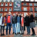La sección #CastillayLeónenCorto proyectó ayer en el @TEATROZORRILLA los siete cortometrajes de la #64Seminci junto a sus directores: Jelena Dragas, Juan Carrascal, César Díaz Meléndez, @_sararivero_, @jcmostaza, @ClaraSantaolaya y @maxlemcke  ➡️ https://t.co/LSmQ4UvmtV