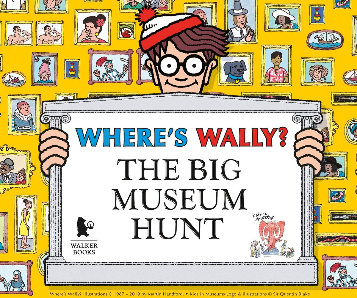 Need ideas for a rainy half-term? Join in the search for Wally at Wimbledon Lawn Tennis Museum as part of Where's Wally? The Big Museum Hunt. The event runs til 3rd November. #wally #wimbledon #octoberhalfterm