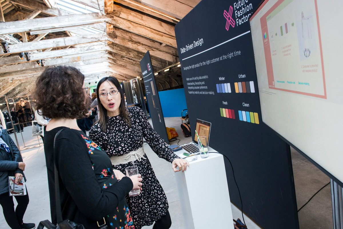 Future Fashion Factory On Twitter Orobinson Wtin Explored The Fashion And Textile R D Projects On Display At Our Showcase Last Week Https T Co Nitp0rawzp Https T Co Aciapcqdfe
