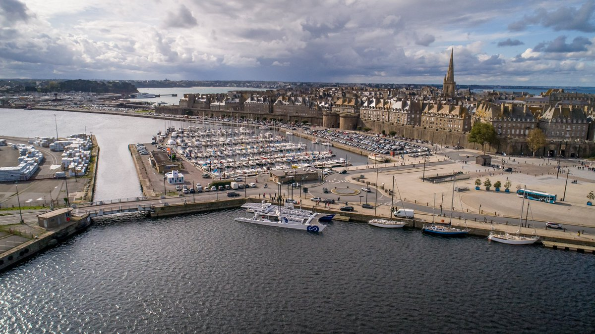 Good morning #SaintMalo  To learn more about our vessel, its onboard #technologies and our Odyssey for the future our exhibition opens today on the Quai du Bajoyer until October the 26th, while our boat will be visible close by. We look forward to welcoming you there! #Innovation<br>http://pic.twitter.com/bqbfzuUpcp