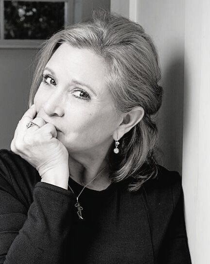 Happy birthday to the queen of the galaxy - Carrie Fisher... In my heart forever and always