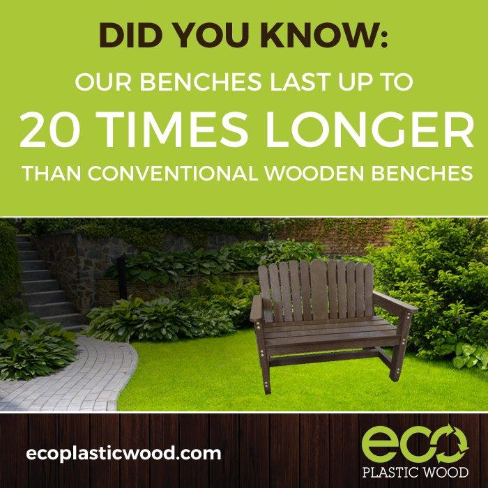 Sensational Eco Plastic Wood Ecoplasticwood Twitter Machost Co Dining Chair Design Ideas Machostcouk