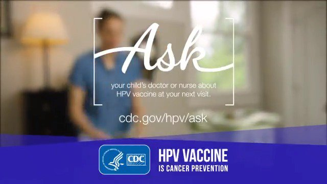 Image for the Tweet beginning: How has the #HPV vaccine