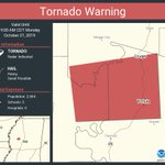 Image for the Tweet beginning: Tornado Warning continues for Tchula