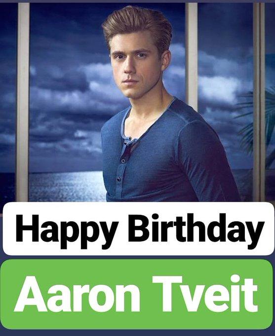 HAPPY BIRTHDAY Aaron Tveit
