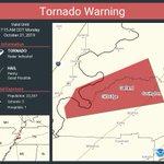 Image for the Tweet beginning: Tornado Warning including Covington TN,