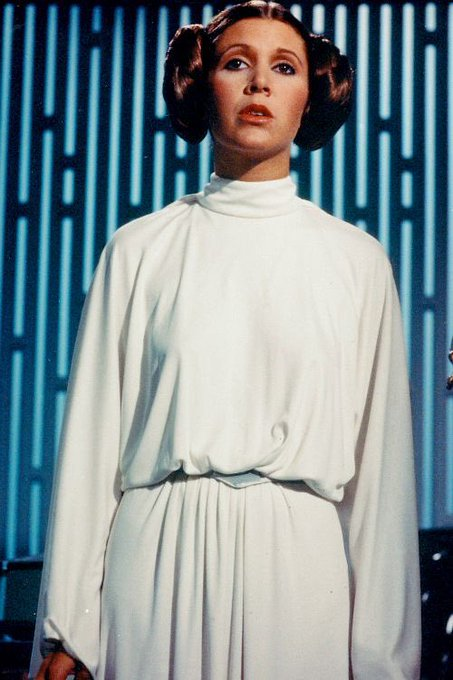 Happy birthday to carrie fisher. i miss her so much