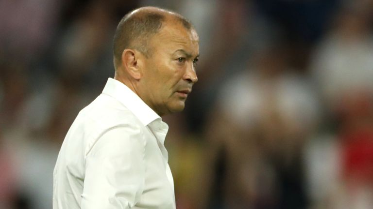 test Twitter Media - Eddie Jones has braced England to face the most dominant team in the history of sport but is convinced New Zealand can still be beaten in Saturday's World Cup semi-final: https://t.co/FFVy66UXYx https://t.co/gWIl5C1gnt