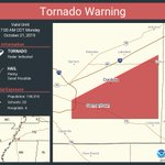 Image for the Tweet beginning: Tornado Warning continues for Germantown