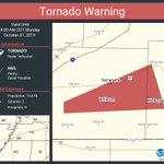 Image for the Tweet beginning: Tornado Warning including Somerville TN,