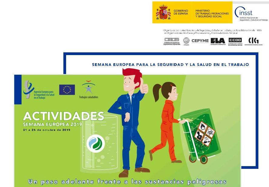 test Twitter Media - Hoy comienza la Semana Europea de la Seguridad y la Salud en el Trabajo. Pone el foco en las sustancias peligrosas.  Aquí puedes ver los actos organizados por el @INSST_MITRAMISS en España: https://t.co/8ZSJrsJuqk Busca el evento de tu ciudad y participa. #EUhealthyworkplaces https://t.co/k1G45xe0Ay