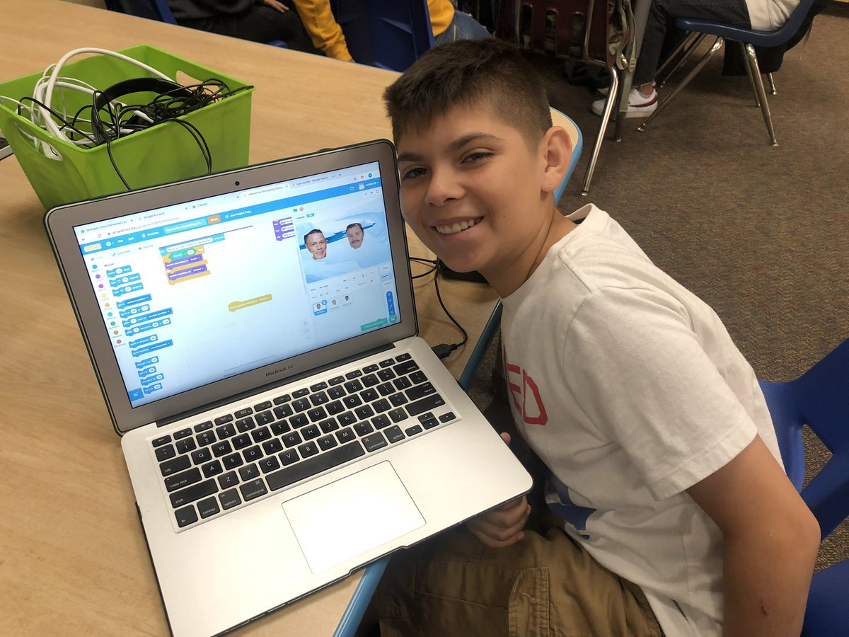 When one of your students includes his uncle with John Cena for his scratch coding project 🤓