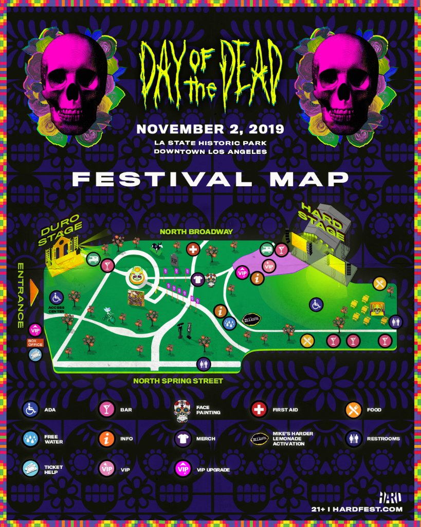 Hard Day Of The Dead Lineup 2019