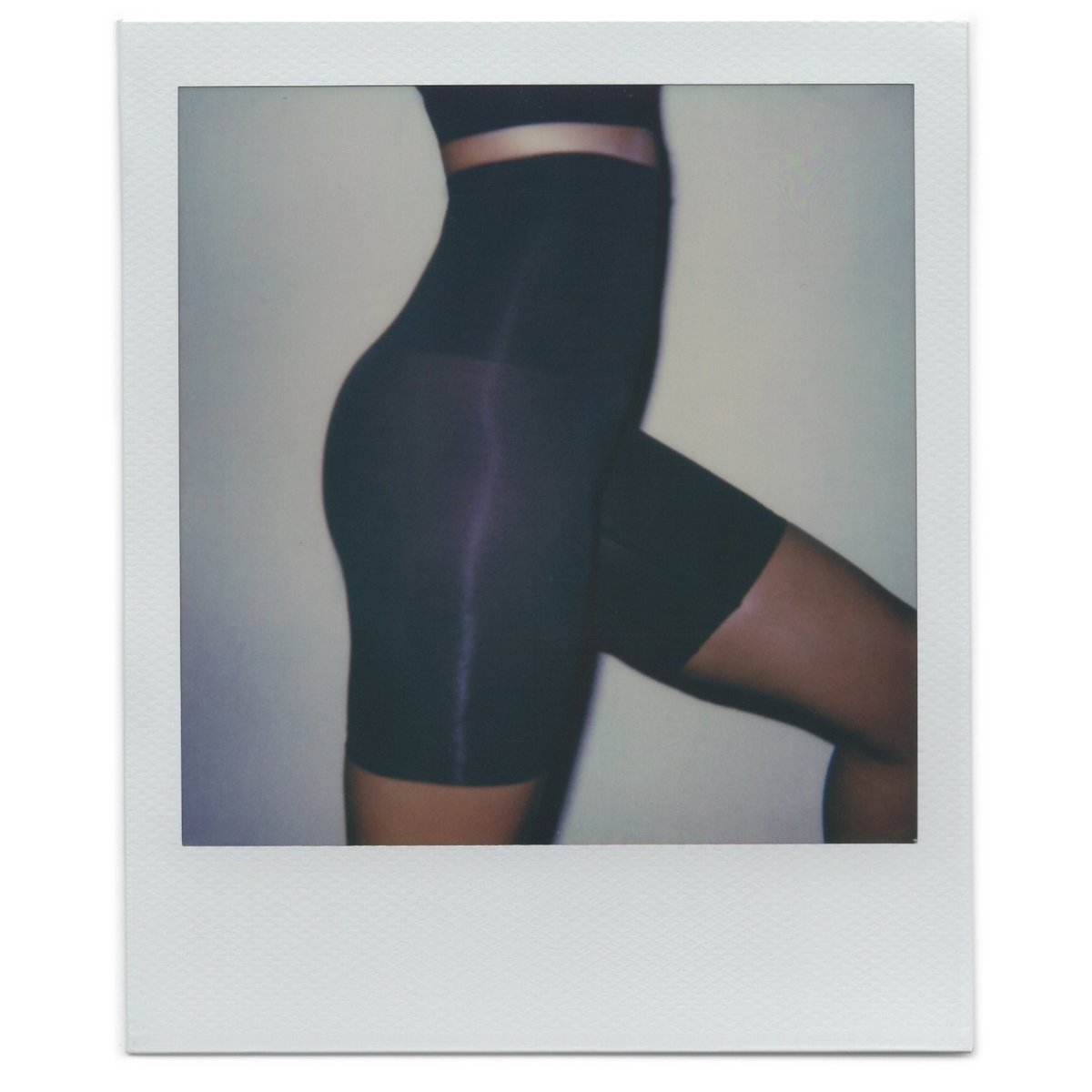 The Core Control Short Mid Thigh ($38) in Onyx. Shop now in select sizes and colors at  http://SKIMS.COM   and enjoy free domestic shipping on orders over $75. Photo: #VanessaBeecroft