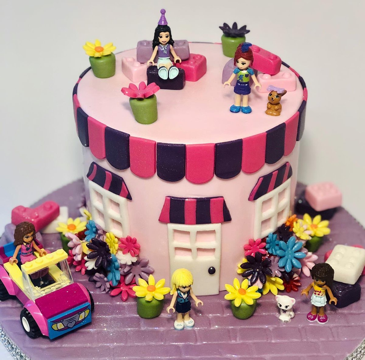 Brilliant Katie Home Cook On Twitter Lego Friends Cake Personalised Birthday Cards Paralily Jamesorg