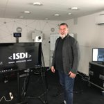 Image for the Tweet beginning: At my live broadcast @ISDI_edu.