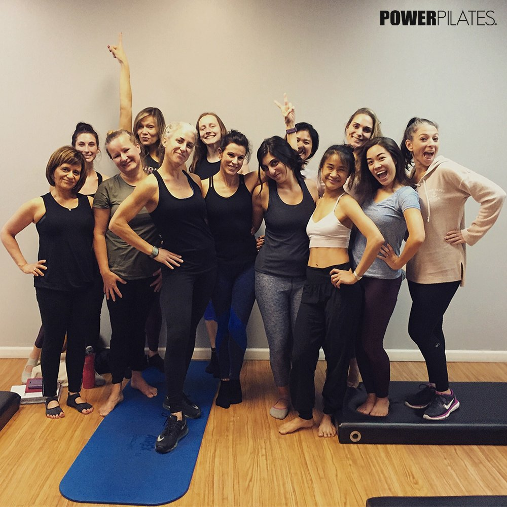 Our NY Apprentices with Teacher Trainer Jordana Herman after finishing the Comprehensive weekend 2. Congratulations, everybody!  #Pilates #ContinuingEducation #PowerPilates pic.twitter.com/sagLJ2FtQn