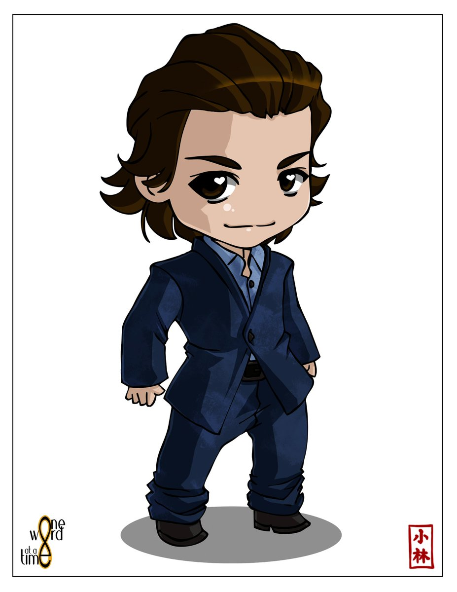 How about a new #the100 chibi?!? Here's #cagewallace portrayed by the AMAZING @johnnywhitworth !!! Hope to meet him one day to give him some Cage goodies!! Cage merch will be coming soon!! Chibi drawn by the incredibly talented @kobycabana !!<br>http://pic.twitter.com/mYdYPXJRL1