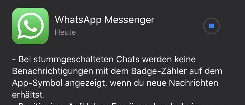 Whatsapp Badge Aktivieren