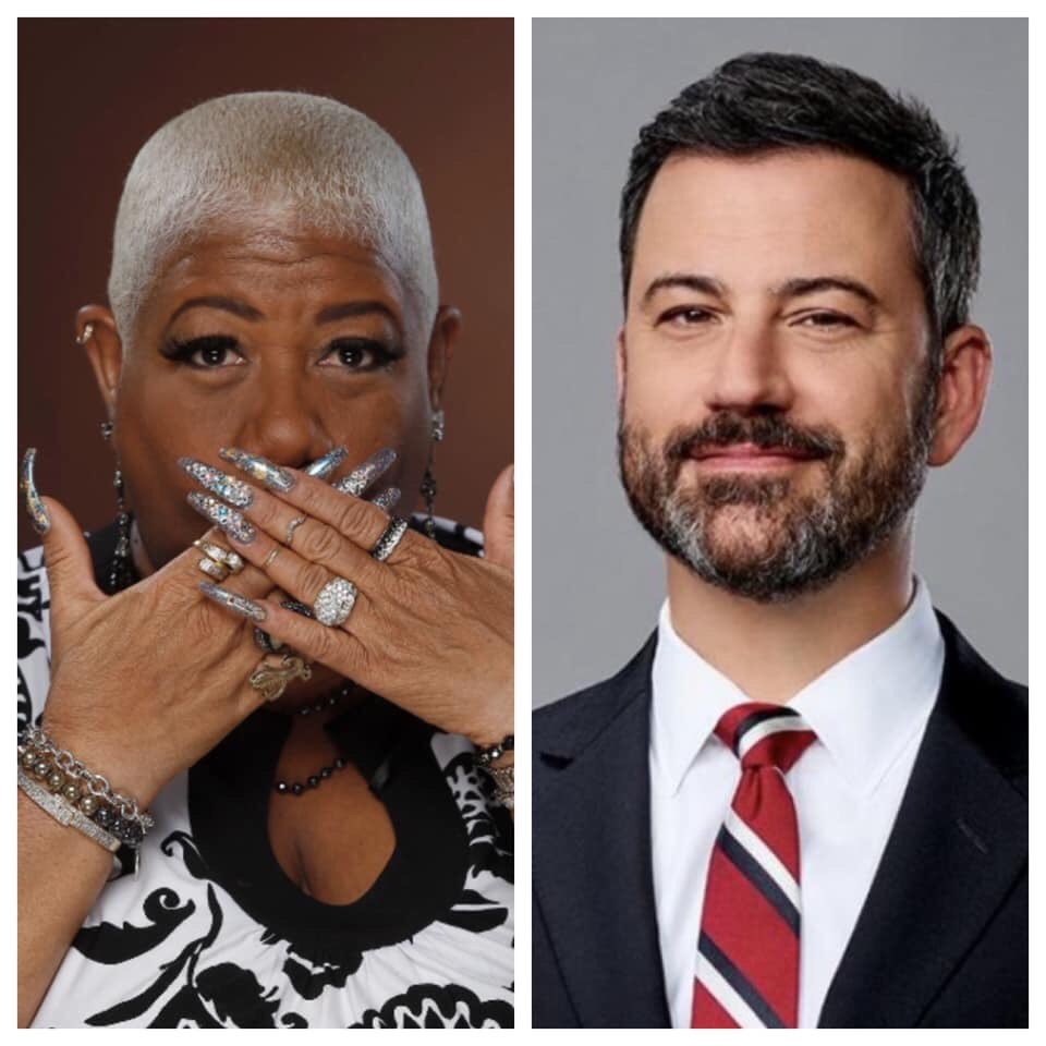 My sexy, hilarious friend #LuenellCampbell  will be on @jimmykimmel   tonight!  Tune in Arkansas as we cheer on one of our own (She was  born in Tollette). This will be epic I promise from her outfit to her humor, she will deliver to gigantic proportions! #JimmyKimmel #ARnews https://t.co/2paDjHqGfC