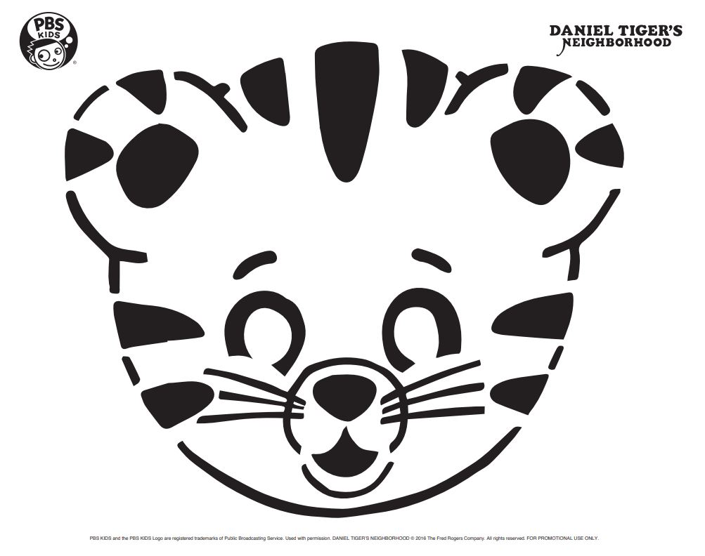 Daniel Tiger On Twitter Carve A Tigertastic Pumpkin This Halloween Using This Nifty Galifty Stencil Make Sure To Share Your Creations With Us Danieltiger Https T Co Bgklv3watk Https T Co Jzbprwmn9i