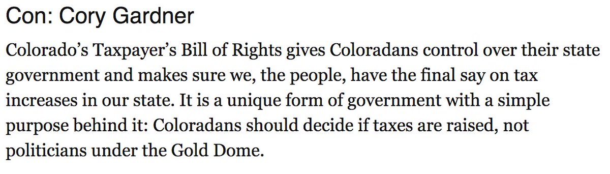 If you oppose more taxes & believe you should have control over your hard-earned dollars then join me in voting @NoOnPropCC. Read my full OpEd here: bit.ly/2P6Pubj #copolitics