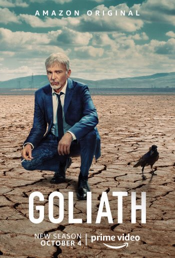 Anyone binge watch season 3 of Goliath yet?  When you get to the end a little surprise... 😉 @goliathtv