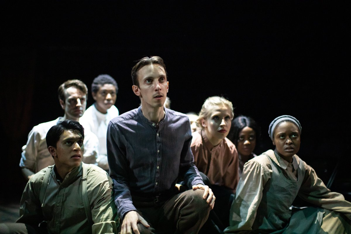 It's opening night of @NYTofGB's #GreatExpectations. Let's a-go!