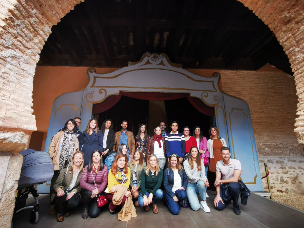 Visitamos los lugares más emblemáticos de #Almagro y gracias al #ayuntamiento por su excelente acogida