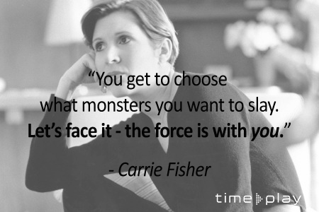 Today would have been Carrie Fisher\s 63rd birthday. Happy birthday, Princess.