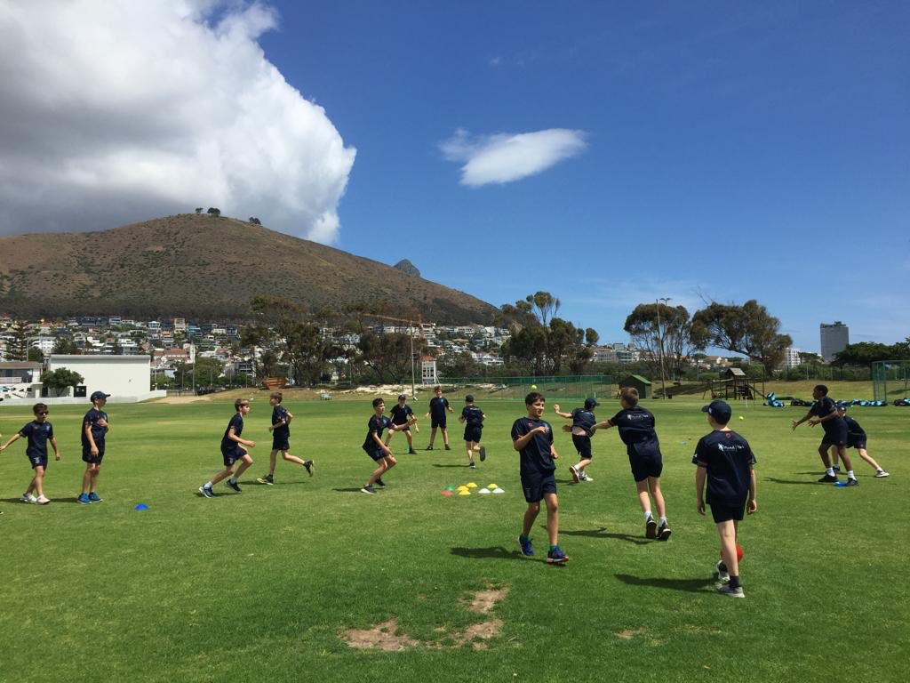 All arrived safely in Cape Town. First net session dusted! https://t.co/pGR1bMyKin