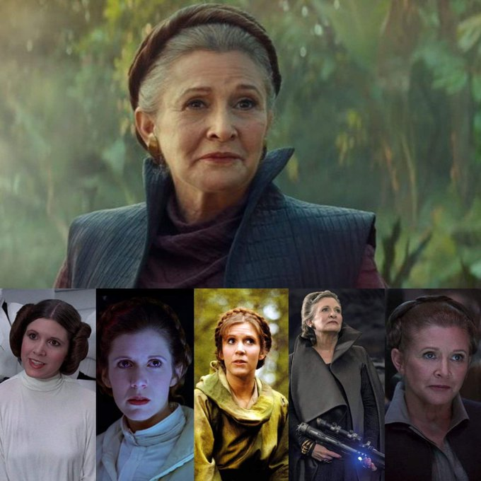 Happy heavenly birthday Carrie Fisher