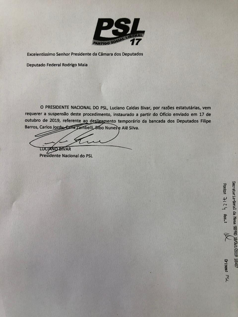 - EHaP34sWsAIPsEh format jpg name large - Bivar desiste de suspender deputados do PSL