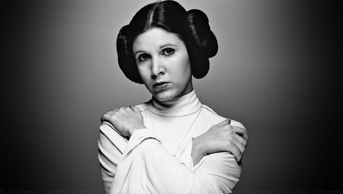 Happy Birthday Carrie Fisher...  Forever our Princess...