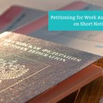 Sometimes employers need to assign employees with little notice but are required to comply with the destination's immigration regulations. We'll identify strategies for employers and the options available to the company or the client. Learn more: https://t.co/xYL63CFkRY